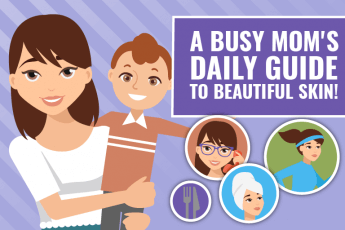 moms daily guide to beautiful skin